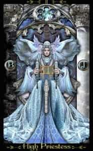 Tarot Illuminati High Priestess