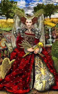 Tarot Illuminati Empress