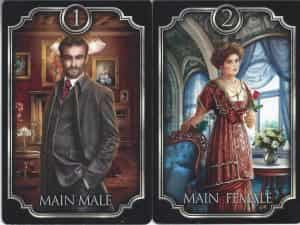 The main male and female in the Kipper fin de siecle