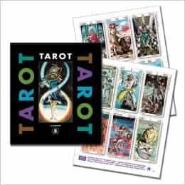 Tarot Gallery cover met pagina's