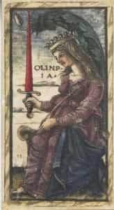 Queen of Swords Sola-Busca