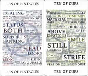 Type Tarot Tens