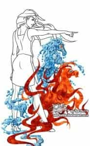 Filligree tarot Chariot