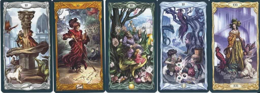 Epic Tarot 10's