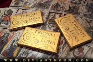 Trionfi della Luna Tarot wrappers