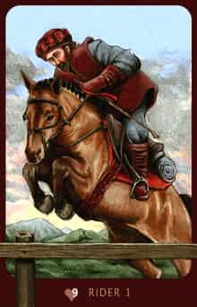 Rider Anna K Lenormand