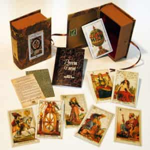 The box set of the Perrin Tarot