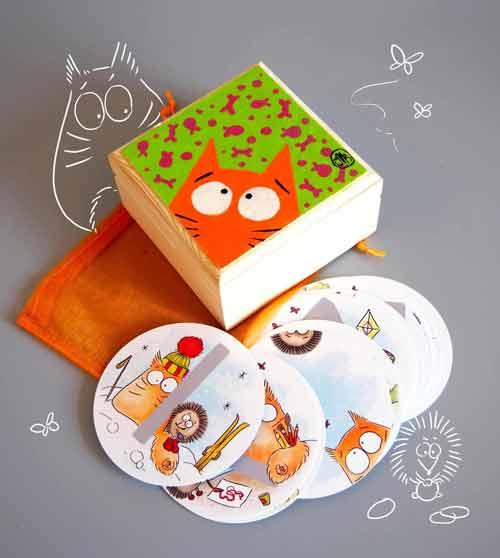 PookieCat Rune Cards
