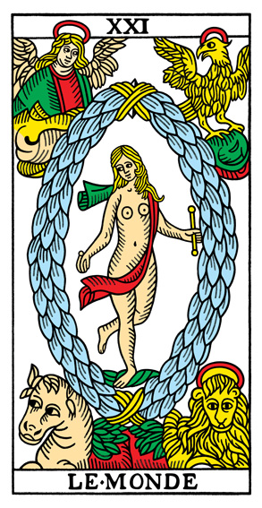The World Tarot de Marseille