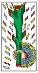 Ace of Batons (wands) Tarot de Marseille