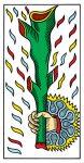 Ace of Batons (wands) Tarot de Marseille
