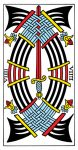9 of swords Tarot de Marseille