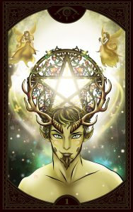 Gypsy Tarot Ace of Pents