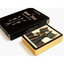 Le Tarot Noir box and deck