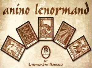 Anino Lenormand The Queen's Sword example lenormand cards