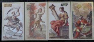 Minchiate Fiorentine Etruria Review. The Queen's Sword Trumps