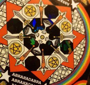 Tabula Mundi Colores Arcus Holographic detail