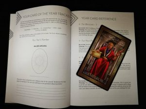 Tarot journaling Tarot Tracker Artist's Advice Angelo Nasios for The Queen's Sword