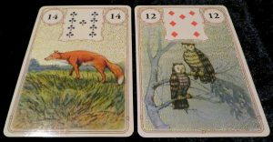 Golden Lenormand review The Queen's Sword