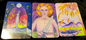 Guardian Tarot Deck Review The Queen's Sword