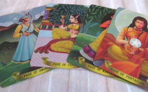 Bharata Tarot review The Queen's Sword