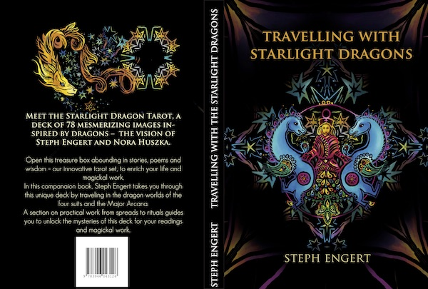 Starlight Dragon Tarot Book and deck Artist Advice