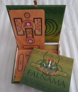 Falnama Turkish Oracle Cards review The Queen's Sword