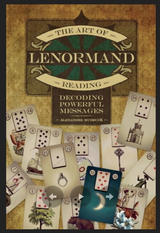The Art of Lenomand Reading review The Queen's Sword