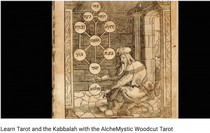 Review The Queen's Sword Alchemystic Woodcut Tarot