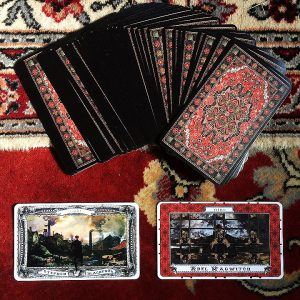 The Charles Dickens Tarot The Queen's Sword Artist's Advice