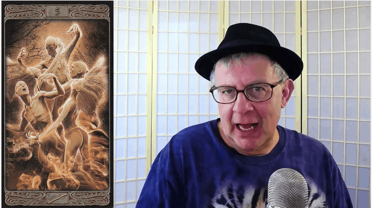 Tarot Dude Rogers gives his daily reading