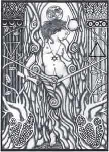 High Priestess Tabula Mundi