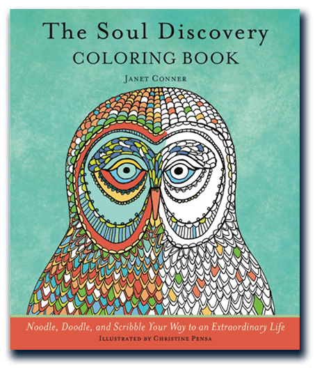 The Soul discovery coloring book cover