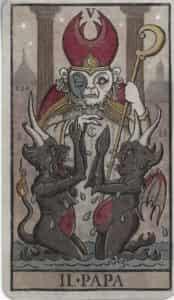 Trionfi della Luna Hierophant/Pope
