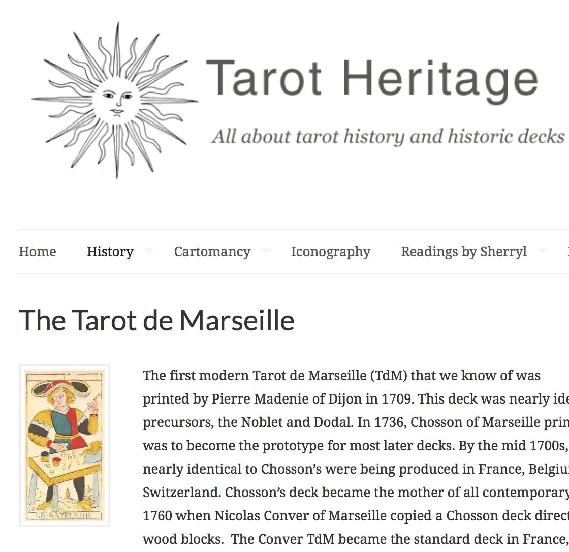 Traditional Tarot Tarot Heritage