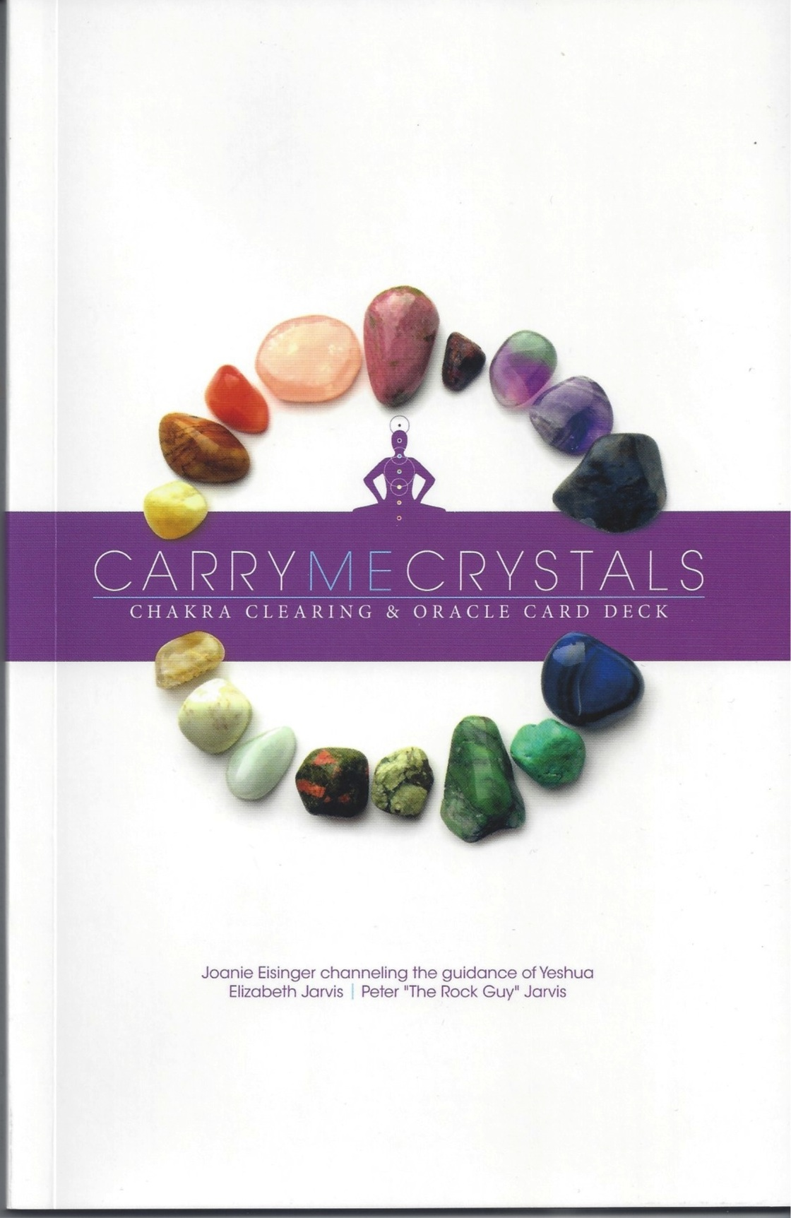 Carry me Crystals box with gemstone oracle cards