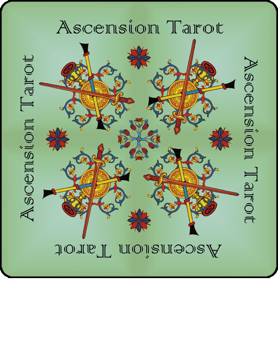 Ascension Tarot backs